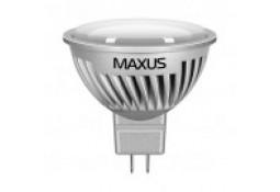 Светодиодная лампа MAXUS MR16 7W 4100K 220V GU5.3 AL (1-LED-358)
