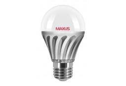 Светодиодная лампа MAXUS LED A60 6W 3000K 220V E27 (1-LED-320)