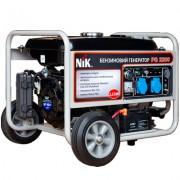 Бензиновый генератор NIK PG 6300 NEW. 6,3 кВт 1/3ф