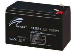 Аккумулятор для ИБП Ritar RT1275B, Black Case, 12V 7.5Ah ( VRLA AGM )