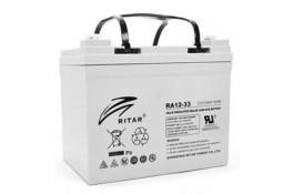 Аккумулятор для ИБП Ritar RA12-33, Gray Case, 12V 33.0Ah ( VRLA AGM )