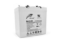 Аккумулятор для ИБП Ritar RA12-55, Gray Case, 12V 55.0Ah ( VRLA AGM )