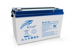 Аккумулятор для ИБП Ritar DC12-100, Gray Case, 12V 100Ah ( VRLA AGM )