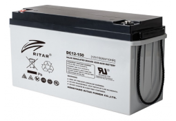 Аккумулятор для ИБП Ritar DC12-150, Gray Case, 12V 150Ah ( VRLA AGM )