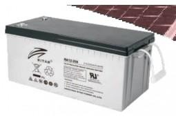 Аккумулятор для ИБП Ritar DC12-200C CARBON, Black Case, 12V 200.0Ah ( CARBON  )