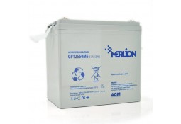 Аккумулятор для ИБП MERLION GP12550M6 AGM 12V 55Ah ( VRLA gel )