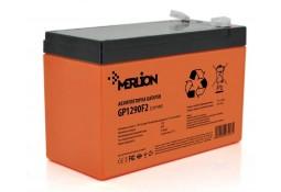 Аккумулятор для ИБП MERLION GP1290F2 AGM 12 V 9 Ah Black ( VRLA AGM )