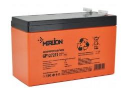 Аккумулятор для ИБП MERLION GP12120F2 AGM PREMIUM 12 V 12 Ah Orange ( VRLA AGM )