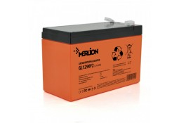 Аккумулятор для ИБП MERLION GL1290F2 12 V 9 Ah Orange ( VRLA gel )