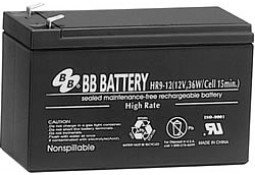 Аккумулятор для ИБП BB Battery HR9-12FR/T2 ( VRLA AGM )