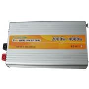 Инвертор (преобразователь) Universal power NV-M2000Вт/24В-220В
