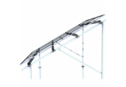 Наземные крепления KRIPTER Domino Vertikal V2-30 ( панели 30 шт, 12 точек крепления, алюм. )