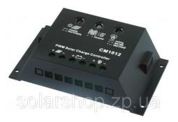 Контроллер заряда  Altek АCM1012, 10A, 12V/24V USB