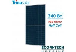 Солнечная батарея Trina Solar TSM-DE06M.08 - 340 Вт, (9 ВВ) mono PERC, 120 half cell