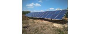 8.4 кВт солнечная электростанция, с. Евминка, Черниговская обл. - 1 этап