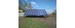 31,12 кВт солнечная электростанция, с. Новоселовка (Днепропетровская обл.) - 2 этап