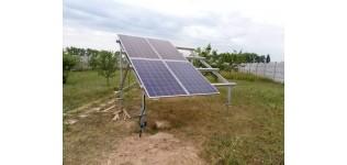 Солнечные батареи - как помощь системы бесперебойного питания ( с.Белогородка, Киевская обл.)