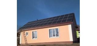 Солнечная электростанция для Зеленого тарифа, (с. Николаевка, Черниговская область)