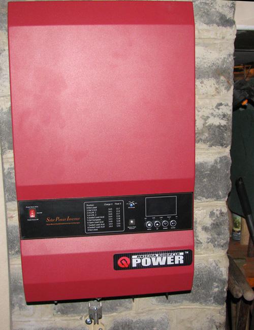 Обзор  Q-Power QPV4048L: на стене
