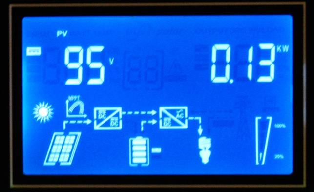 Обзор  Q-Power QPV4048L: меню солнечные батареи