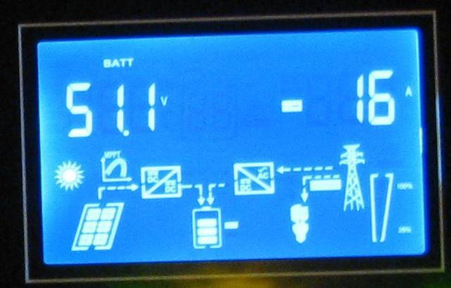 Обзор  Q-Power QPV4048L: меню аккумуляторные батареи
