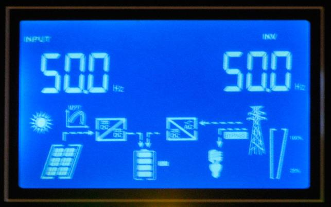 Обзор  Q-Power QPV4048L: меню частота