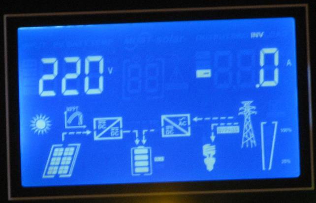 Обзор  Q-Power QPV4048L: меню входная сеть